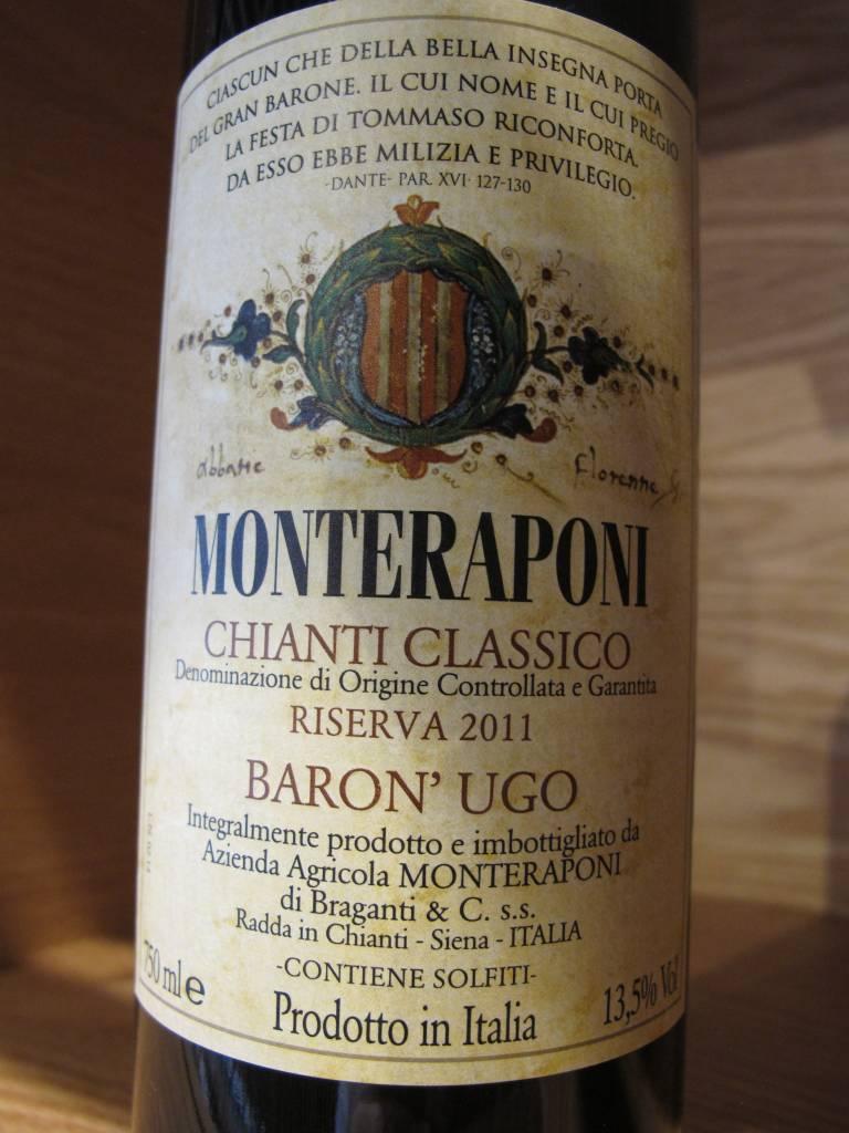 Monteraponi 2011 Monteraponi Chianti Classico Riserva Baron' Ugo 750ml