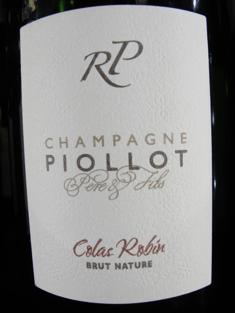 Champagne Piollot Pére et Fils 2012 Champagne Piollot Brut Nature ''Colas Robin'' 750mL