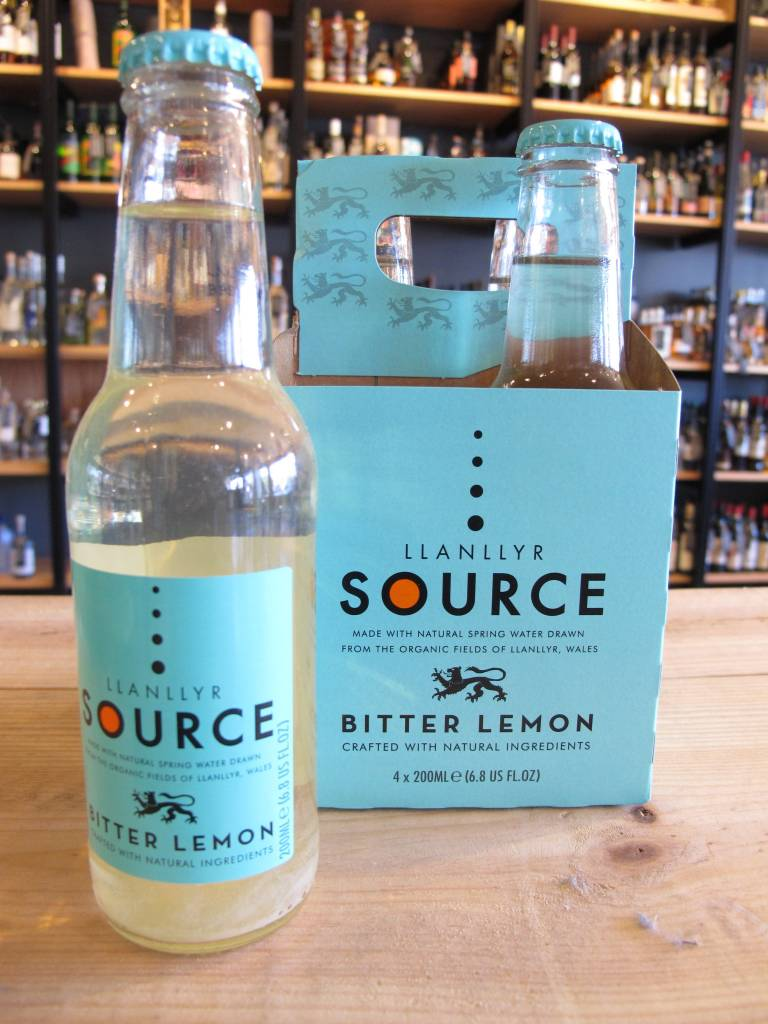 Llanllyr Llanllyr Source Bitter Lemon 4 Pack 200mL