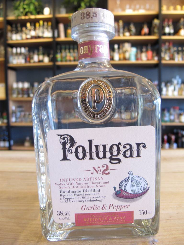 Polugar Polugar Vodka No. 2 Garlic & Pepper 750mL