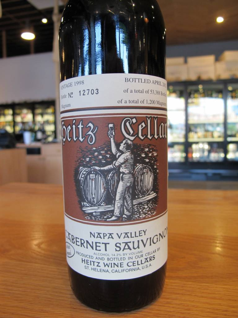 Heitz 1998 Heitz Cabernet Sauvignon Martha's Vineyard 750mL