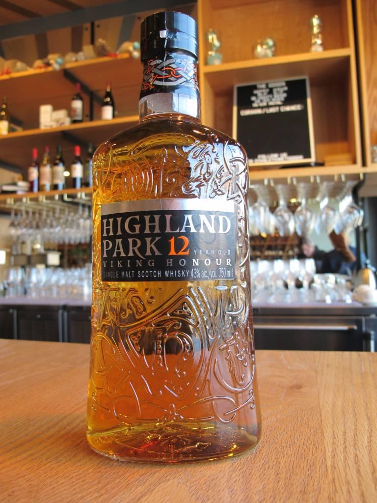 "Highland Park Highland Park ""Viking Honour"" Single Malt Scotch 12 Year 750mL"