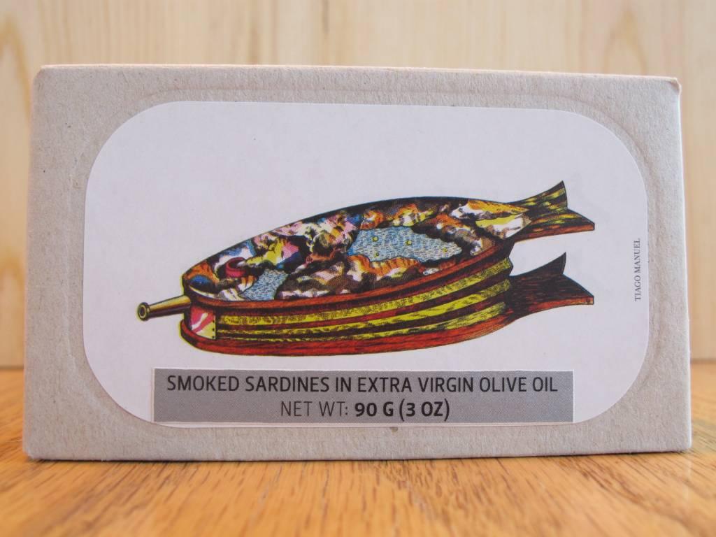 Jose Gourmet Smoked Sardines 3oz