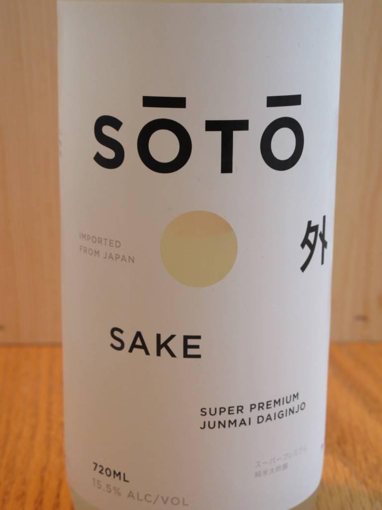 Soto Soto Sake Junmai Daiginjo 720ml