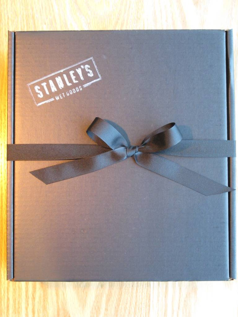 Gift Box Black Three Bottle