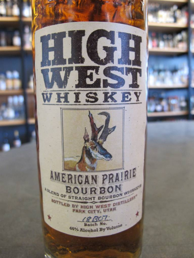 High West Distillery High West American Prairie Bourbon 750ml