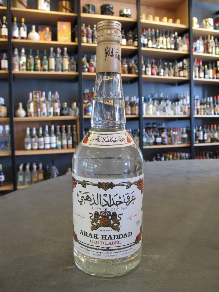 Eagle Distilleries Eagle Distilleries Arak Haddad Gold Label 750ml