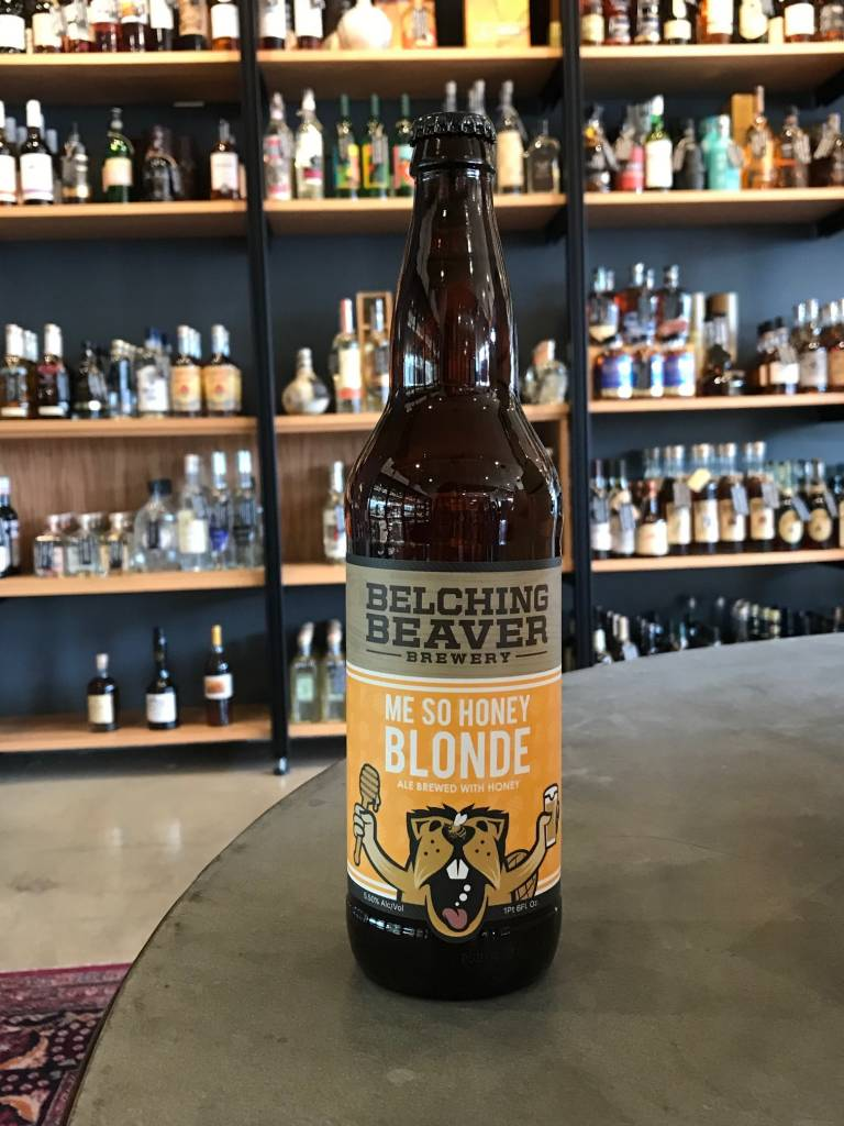 Belching Beaver Brewery Belching Beaver Me So Honey Ale 22oz