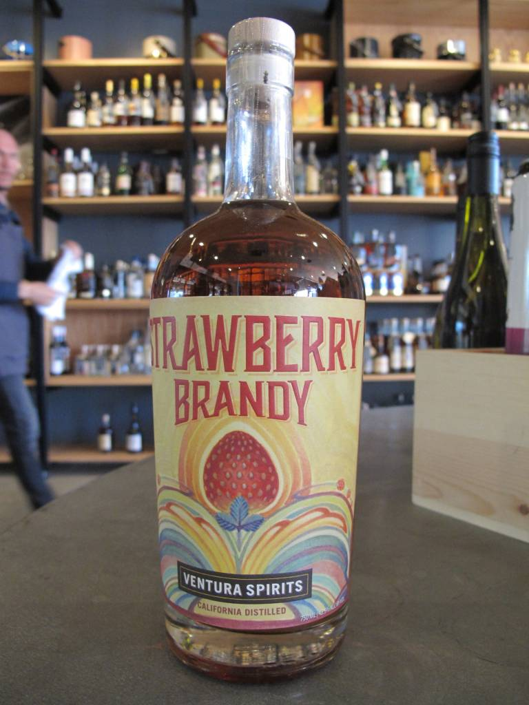 Ventura Spirits Ventura Spirits Strawberry Brandy 750mL
