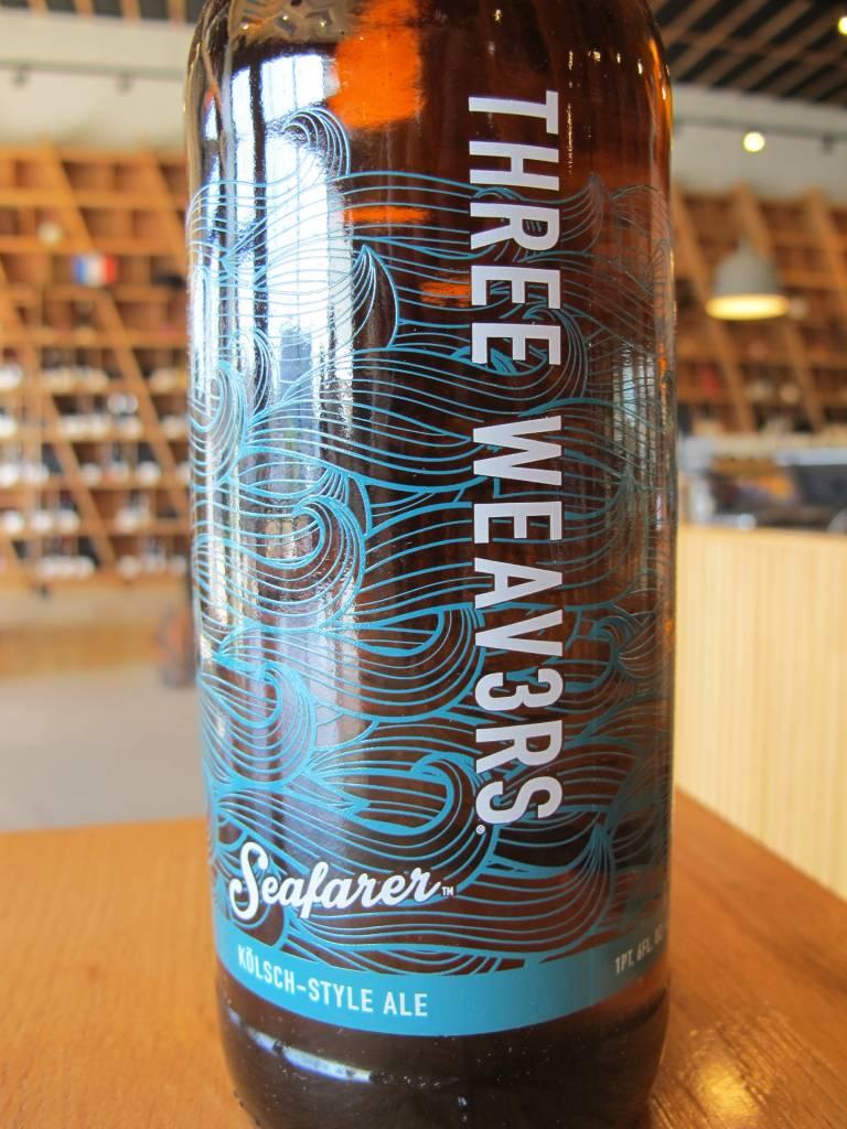 Three Weavers Brewing Three Weavers Seafarer Kolsch 22oz