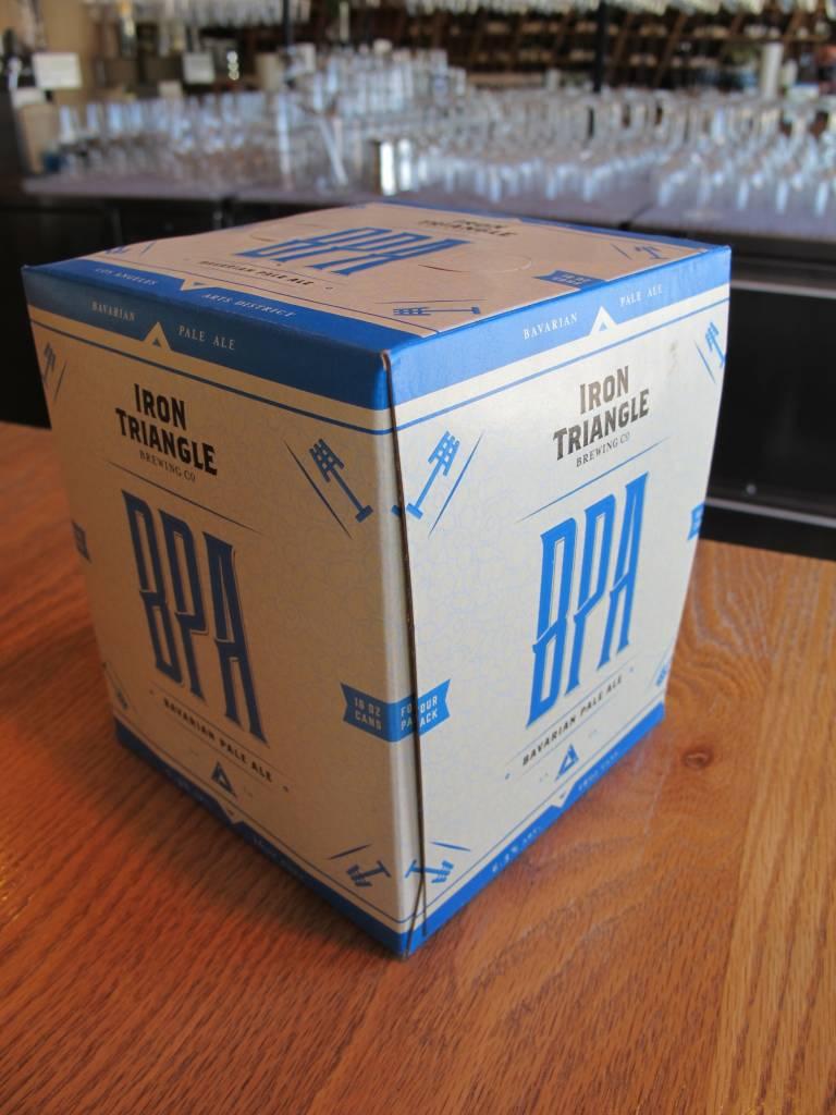 Iron Triangle Brewing Co. Iron Triangle BPA 16oz 4pk