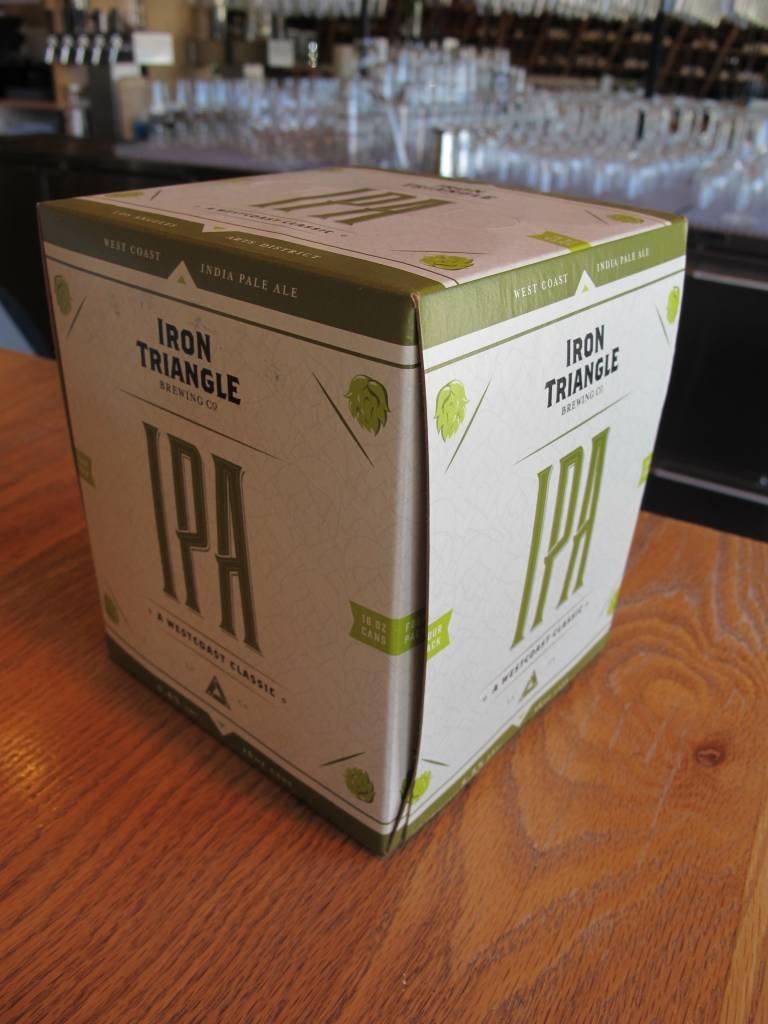 Iron Triangle Brewing Co. Iron Triangle IPA 16oz 4pk