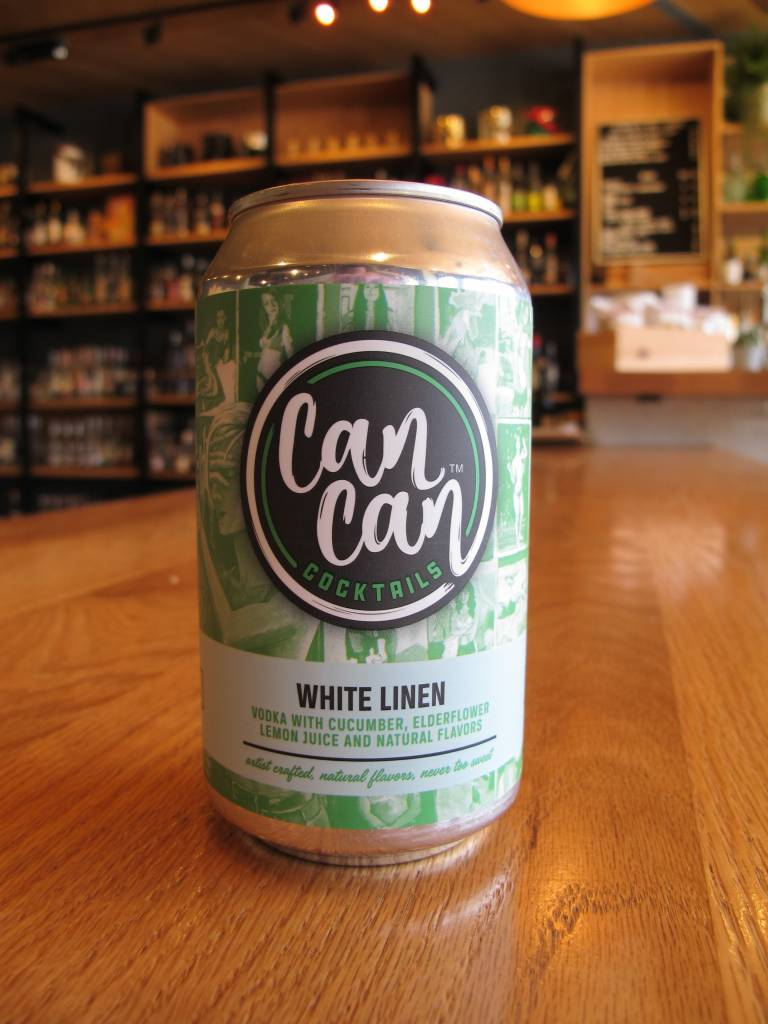 Can Can Cocktails Can Can Cocktails White Linen 12oz
