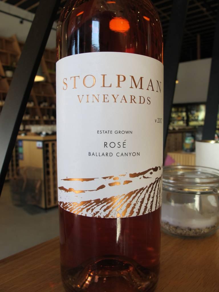 Stolpman Vineyards 2017 Stolpman Vineyards Ballard Canyon Estate Rosé 750ml