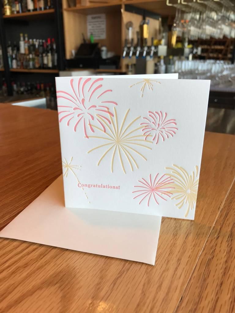 Fireworks Elum Greeting Card