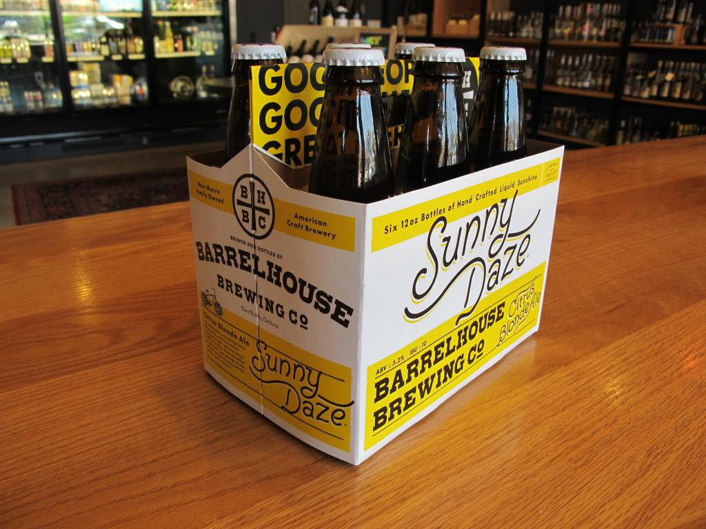 Barrelhouse Brewing Co. Barrelhouse Brewing Co. Sunny Daze Citrus Blond 12oz 6 Pack