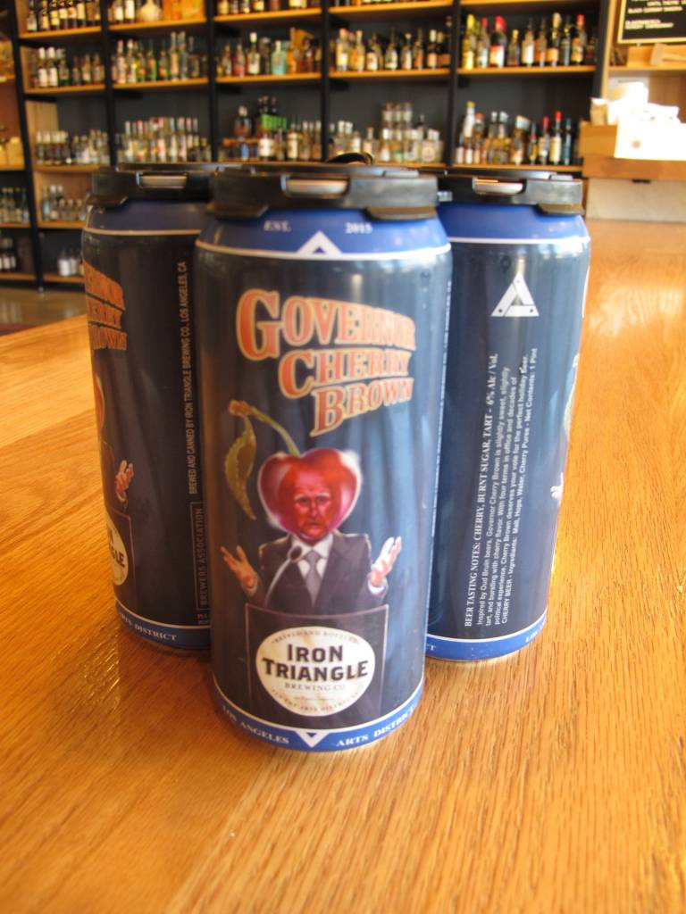 Iron Triangle Brewing Co. Iron Triangle Governor Cherry Brown 4pack 16oz