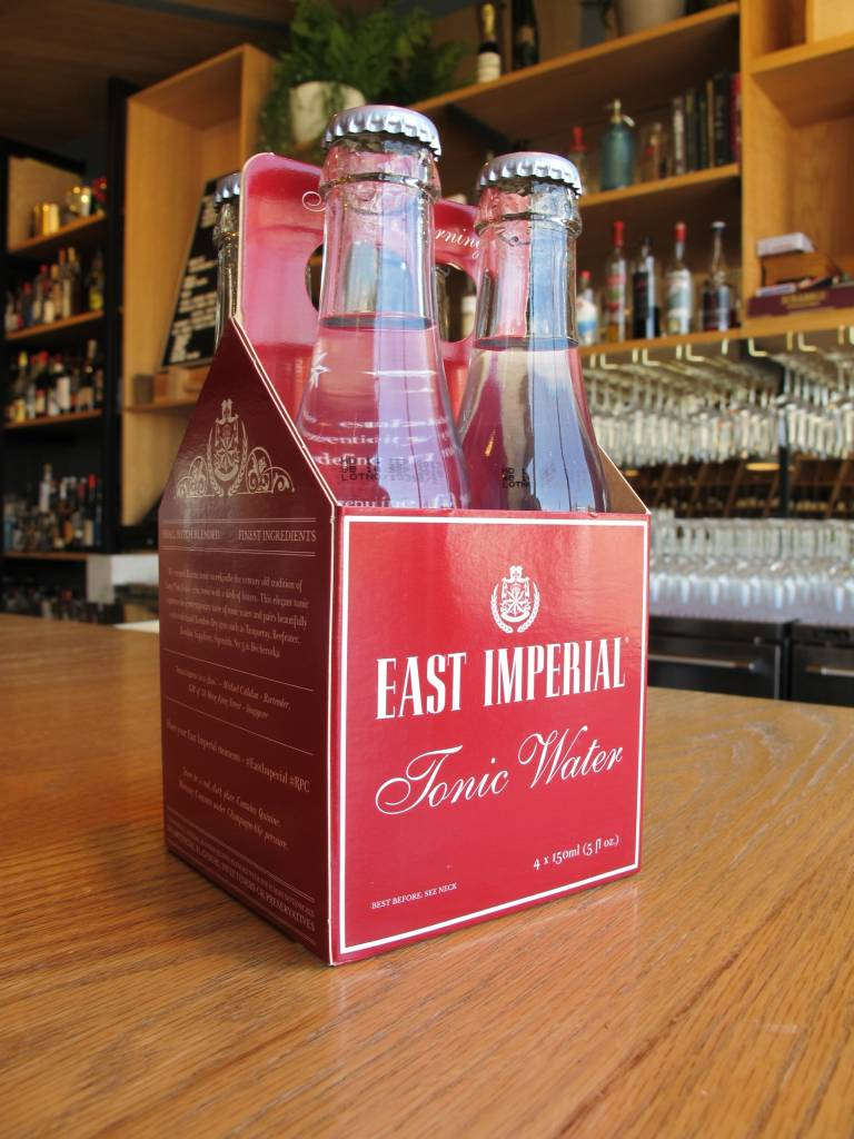 East Imperial Tonic Water 4 pack, 5oz