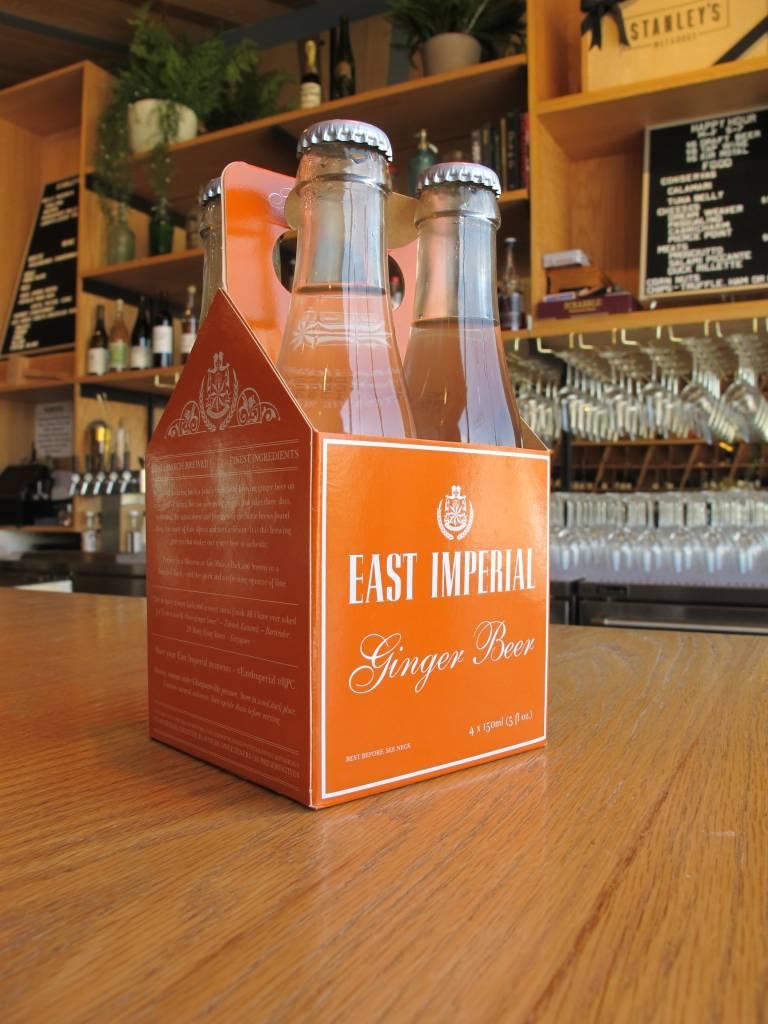 East Imperial Ginger Beer 4 pack, 5 oz