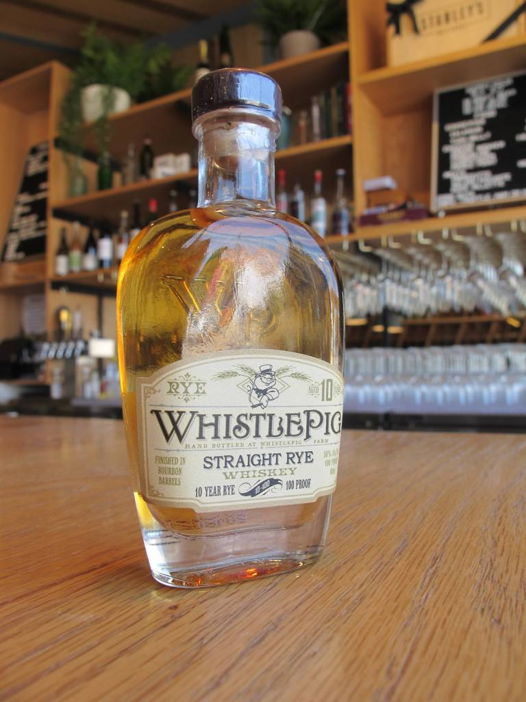 WhistlePig Distillery Whistle Pig Straight Rye Whiskey 10 Year 50ml