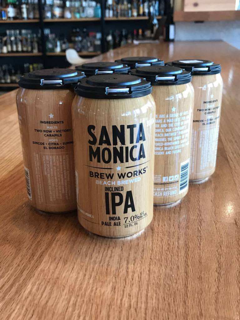 Santa Monica Brew Works Santa Monica Brew Works Inclined IPA 6pack, 12oz