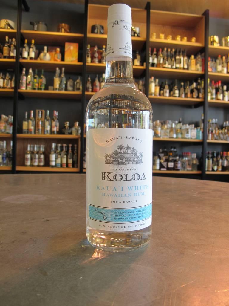 Koloa Koloa Kaua'i White Rum 1L