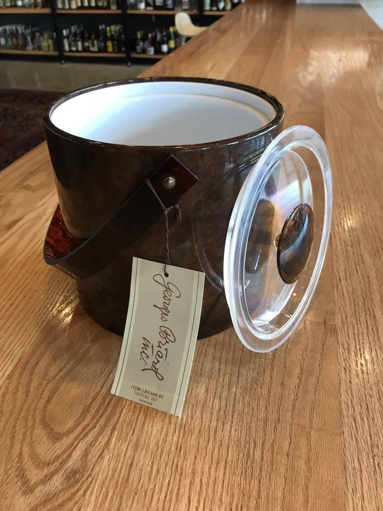 Georges Briard Vintage Georges Briard Tortoise Shell Ice Bucket