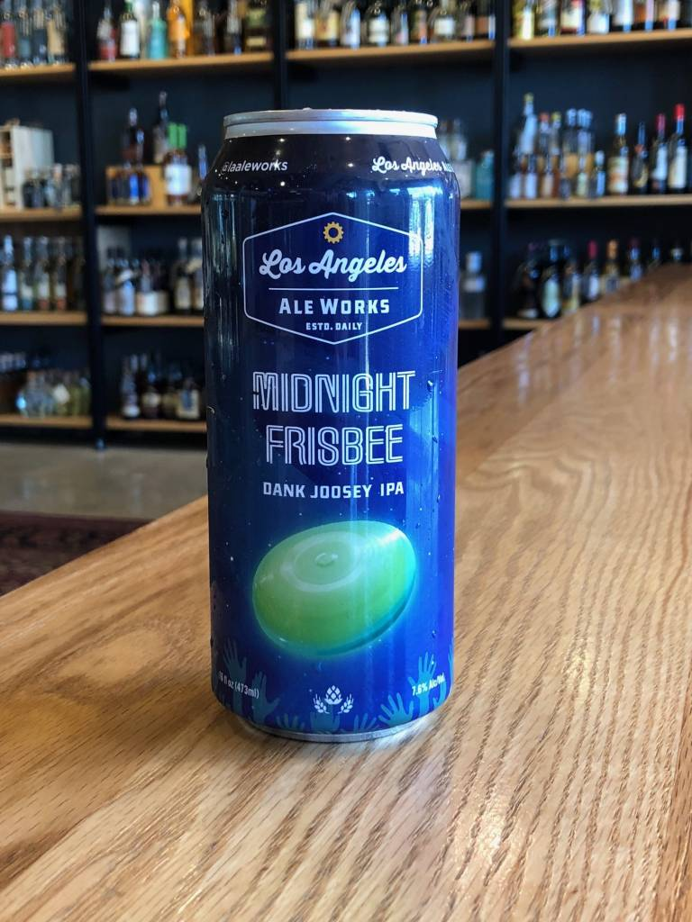Los Angeles Ale Works Los Angeles Ale Works Midnight Frisbee 16oz