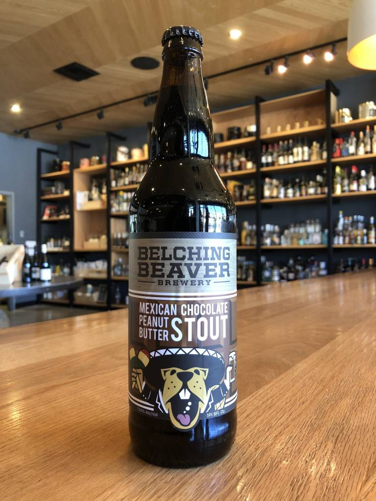 Belching Beaver Brewery Belching Beaver Mexican Chocolate PB Stout 22oz