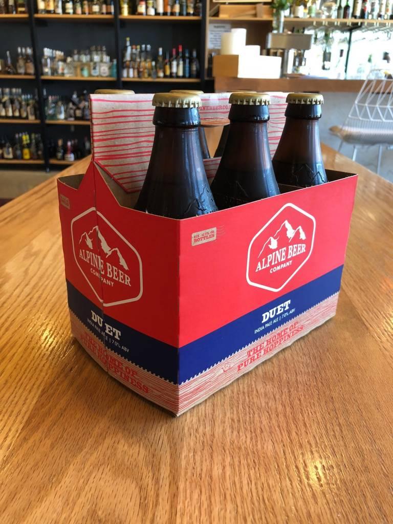 Alpine Beer Company Alpine Beer Company Duet IPA 12oz 6 Pack