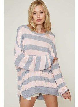 Striped Sweatshirt