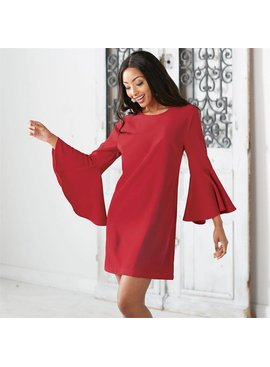 Mud Pie Brooks Bell Sleeve Dress