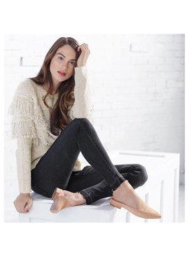 Sarah Denim Leggings in Faded