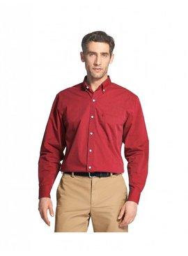 Essential Stretch Long-Sleeve Button-Down Shirt