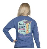 Simply Southern Collection Do All Things with Kindness Long Sleeve T-Shirt - Moonrise