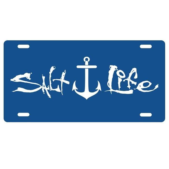 Salt Life Salt Life Signature Anchor License Plate
