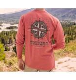 Southern Marsh Branding Tee - Compass - Long Sleeve