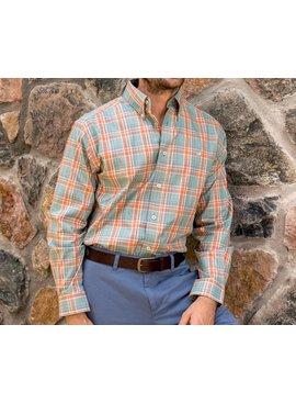 Southern Marsh Lexington Windowpane Dress Shirt