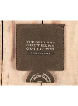 Southern Marsh Waxed Cotton Coozie