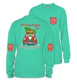 Simply Southern Collection Elf Christmas Tree Long Sleeve T-Shirt