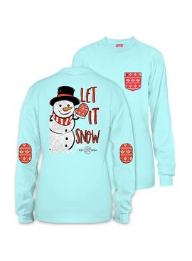 Simply Southern Collection Let It Snow Long Sleeve T-Shirt