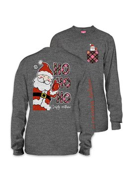 Simply Southern Collection Youth - HOHOHO Long Sleeve T-Shirt