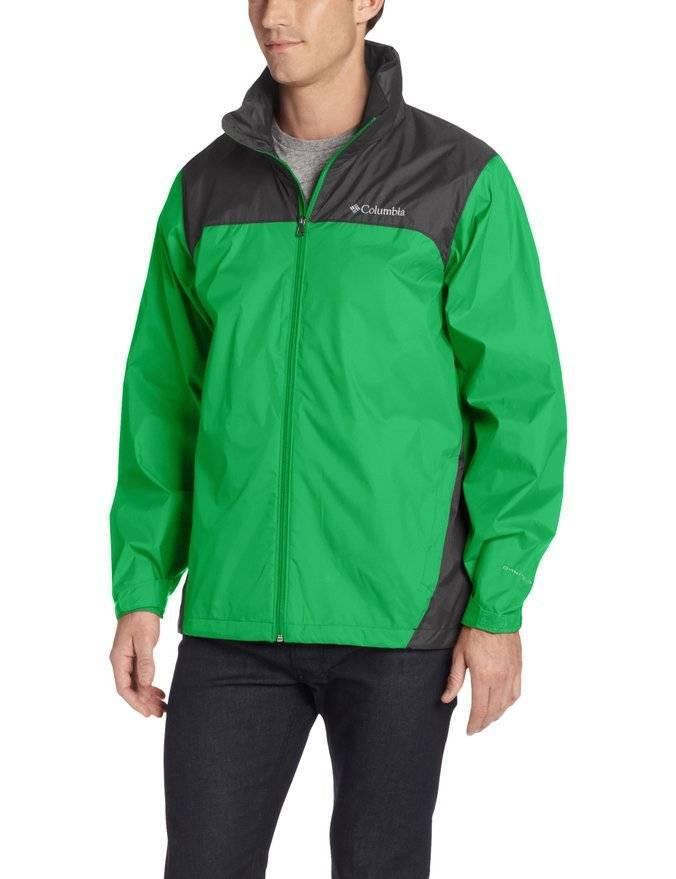 Columbia Glennaker Lake Rain Jacket With Hideaway Hood