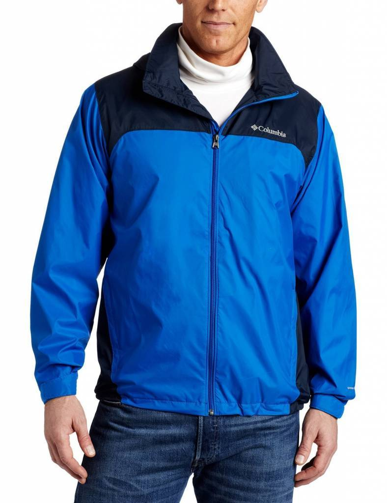 Columbia Glennaker Lake Rain Jacket With Hideaway Hood