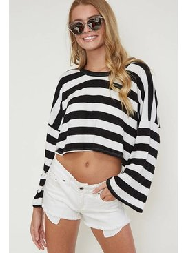 Fantastic Fawn Fantastic Fawn Bell Sleeve Crop Top