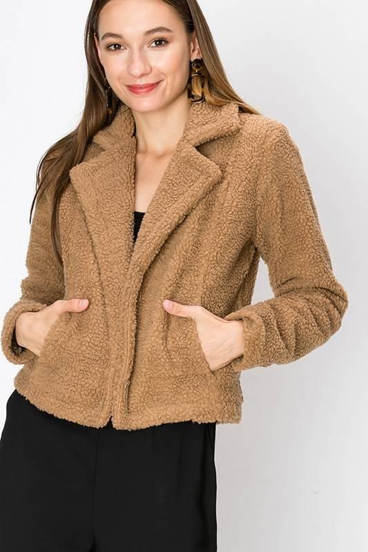 FAV LUX Faux Fur Blazer