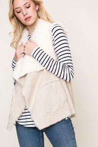 FAVLUX Fashion HYFVE Faux Fur Vest