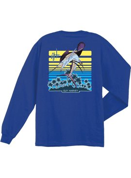 Guy Harvey Guy Harvey Sunburn LS Graphite