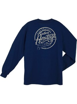 Guy Harvey Guy Harvey Southern Heritage L/S Shirt