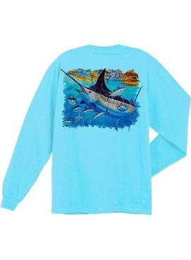Guy Harvey Mosaic L/S Shirt